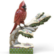 Jim Shore Heartwood Creek® Winter Cardinal Figurine