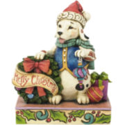 Jim Shore Heartwood Creek® Christmas Dog Figurine