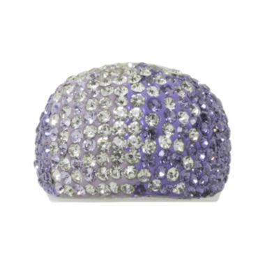 jcpenney.com | Sparkle Allure Purple Crystal Band