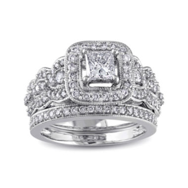 jcpenney.com | 1¼ CT. T.W. Diamond 14K White Gold Bridal Ring Set