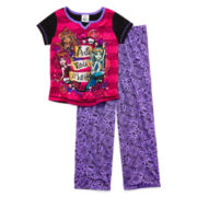 Monster High 2-pc. Short-Sleeve Pajama Set - Girls 6-16