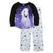 Bella Sara 2-pc. Long-Sleeve Pajama Set - Girls 4-12