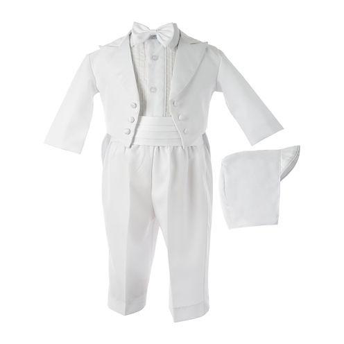 Keepsake® 5-pc. White Tuxedo Set - Boys newborn-24m