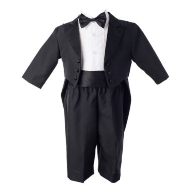 jcpenney.com | Keepsake® 4-pc. Black Tuxedo Set - Boys newborn-24m