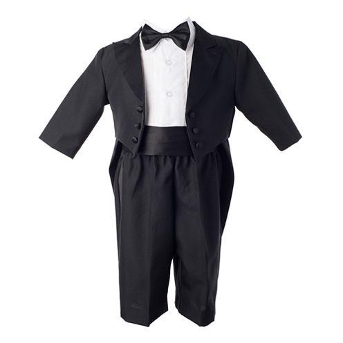 Keepsake® 4-pc. Black Tuxedo Set - Boys newborn-24m