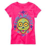 Cute & Skully Tee - Girls 7-16