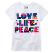 Love Life Peace Tee - Girls 7-16