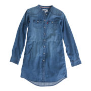 Levi's® Daphne Button-Front Denim Dress - Girls 7-16