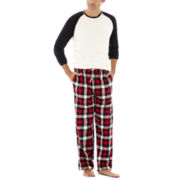Stafford® Plaid Flannel Pajama Set