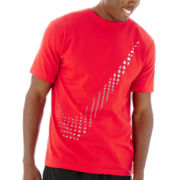 Nike® Tech Plaid Swoosh Tee