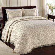 Lamont Home® Allover Brocade Bedspread & Accessories