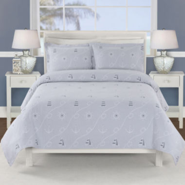 jcpenney.com | Lamont Home® Marina Nautical Coverlet & Accessories
