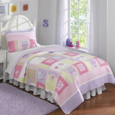 Laura Hart Kids Happy Owls Quilt Set