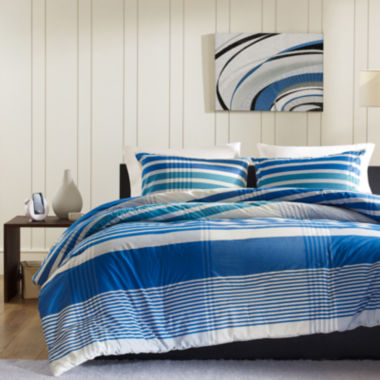 jcpenney.com | INK+IVY Connor Plaid Duvet Cover Set