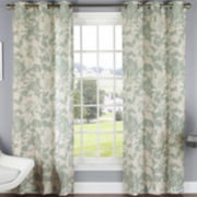 Peony Grommet-Top Curtain Panel Pair