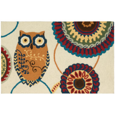 jcpenney.com | Nourison® Washable Owl Rectangular Rug