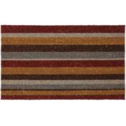 JCPenney Home™ Autumn Stripe Coir Doormat