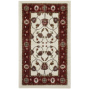 Rosetta Washable Rectangular Rug
