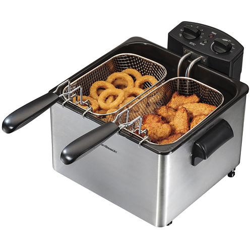 Hamilton Beach® Professional-Style Deep Fryer with 2 Baskets