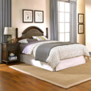 Briella Woven Headboard with Nightstand