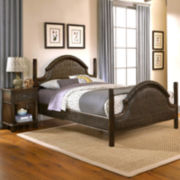 Briella Woven Bed with Nightstand