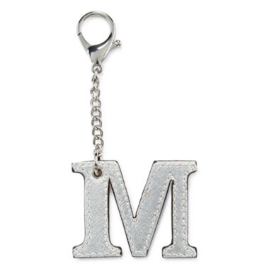 jcpenney.com | Initial Charm - M Key Chain