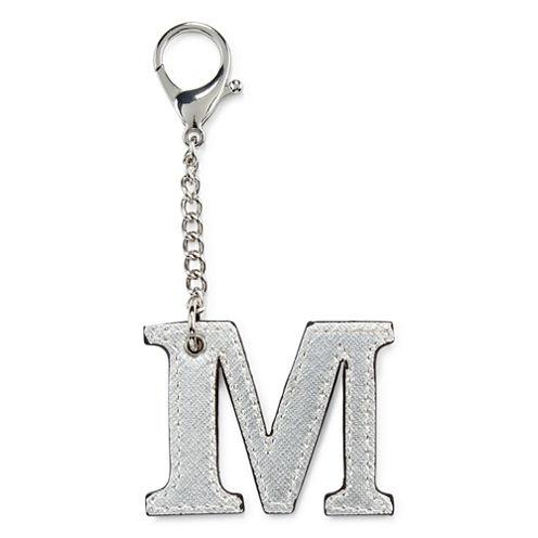 Initial Charm - M Key Chain