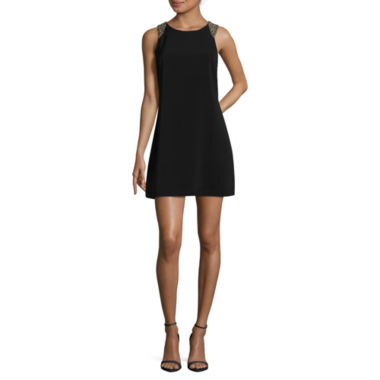 jcpenney.com | Swat Sleeveless Beaded Shift Dress-Juniors