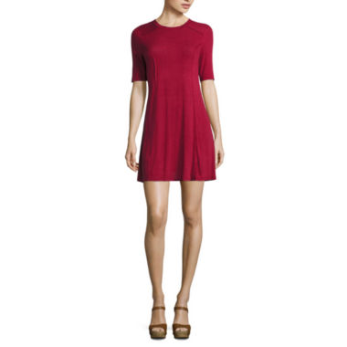jcpenney.com | My Michelle 3/4 Sleeve A-Line Dress-Juniors