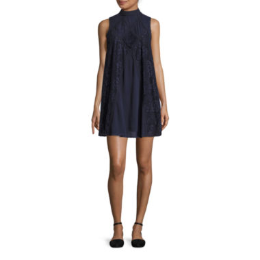 jcpenney.com | Hint of Mint Sleeveless A-Line Dress-Juniors