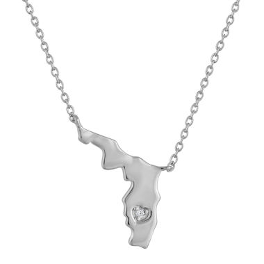 jcpenney.com | Diamond Accent Sterling Silver Florida Pendant Necklace