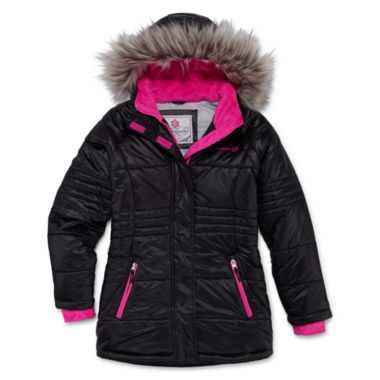 jcpenney.com | Free Country Girls Heavyweight Puffer Jacket-Big Kid