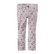 Carter's Girl Floral Denim Pant 2T-5T
