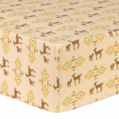jcpenney.com | Trend Lab Deer Aztec Flannel  Crib Sheet