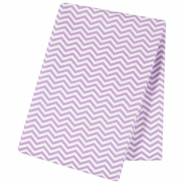 jcpenney.com | Trend Lab  Lilac Chevron Flannel Swaddle Blanket