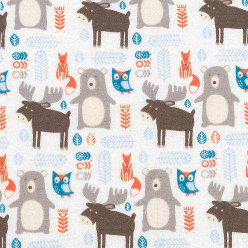 Trend Lab Scandi Forest Jumbo Flannel  Swaddle Blanket