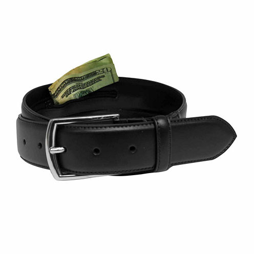 Van Heusen Flex Money Belt With Zipper