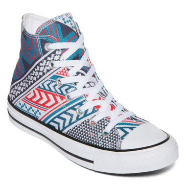 jcpenney.com | Converse Chuck Taylor All Star Festival Print High-Top Sneakers-Unisex Sizing