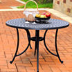 Sedona Cast Aluminum Patio Dining Table