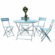 Carolina Chair & Table 5-pc. Patio Dining Set