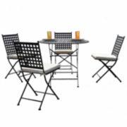 Carolina Chair & Table 5-pc. Patio Dining Set