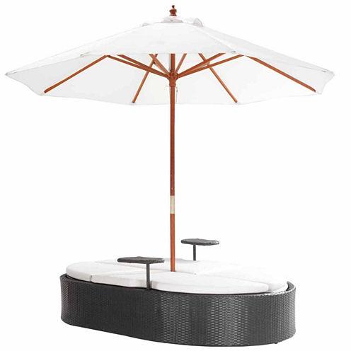 Zuo Modern Hampton Double Patio Lounge Chair