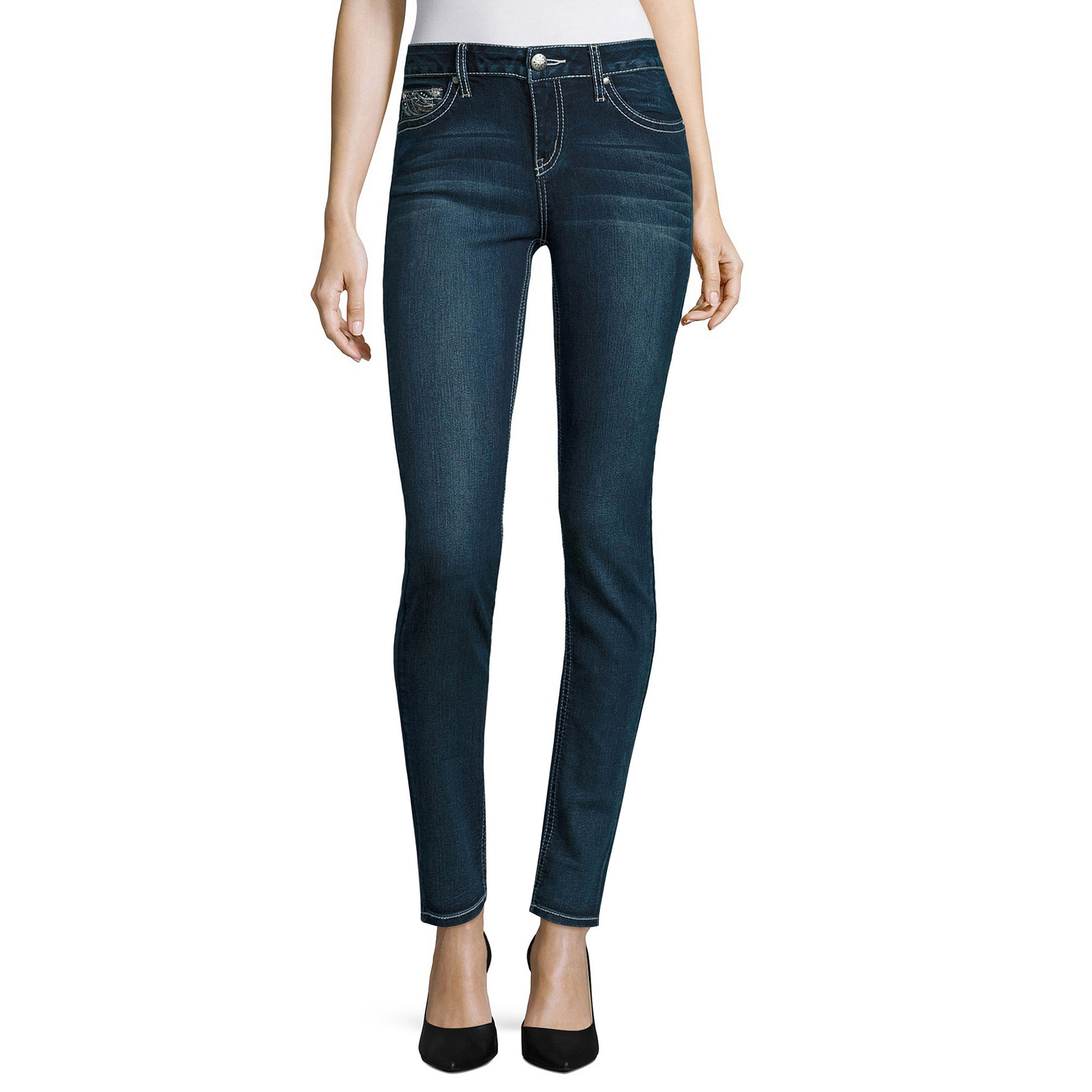 Zco Jeans Skinny Jeans-Juniors