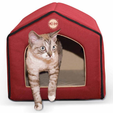 "jcpenney.com | K & H Manufacturing Indoor Pet House 16"" x 15"" x 14"""