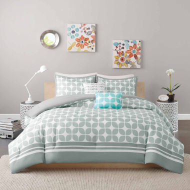 jcpenney.com | Intelligent Design Gwen Coverlet Set