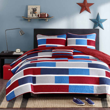 jcpenney.com | Intelligent Design Nicholas 3pc. Quilt Set