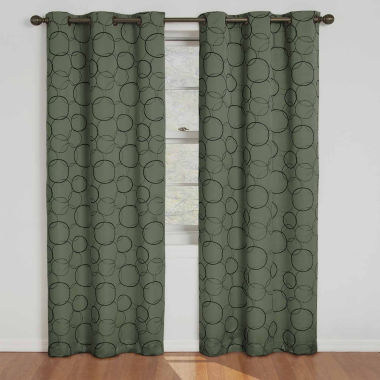 jcpenney.com | Eclipse® Meridian Grommet-Top Blackout Curtain Panel