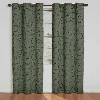 Eclipse Meridian Blackout Grommet Top Curtain Panel