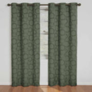 Eclipse® Meridian Grommet-Top Blackout Curtain Panel