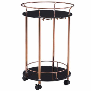 jcpenney.com | Zuo Modern Glass-Top Serving Cart